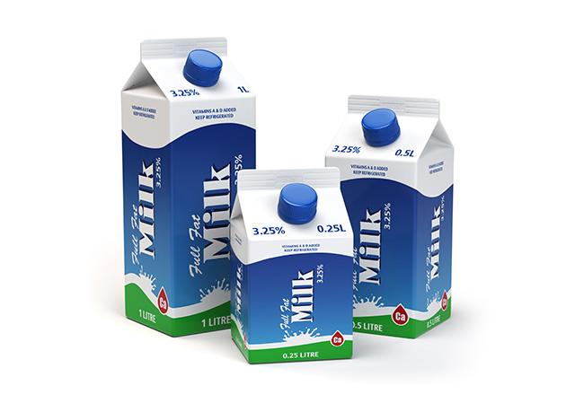 Milk And Juice Labels
